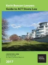 Guide to ACT Strata Law