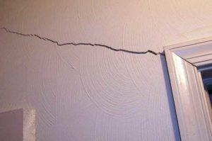 cracks in apartment walls