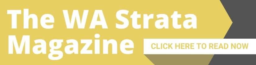 The WA Strata Magazine Click Me Banner