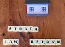 Strata Law Reform