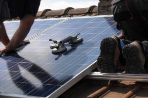 solar-panel installation