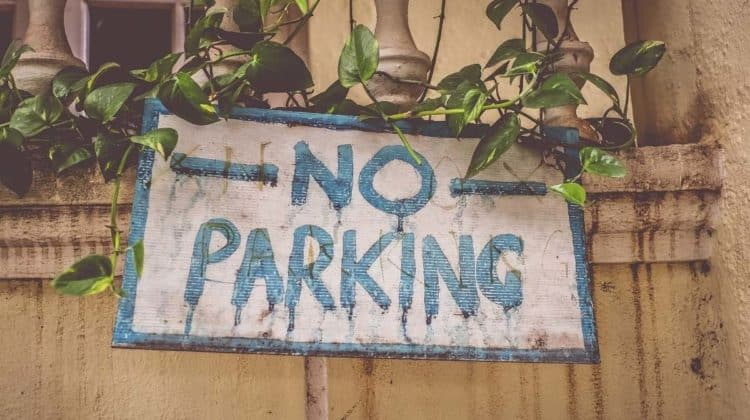 visitor parking spaces